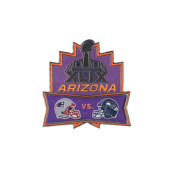 Super Bowl XLIX Head-To-Head Pin
