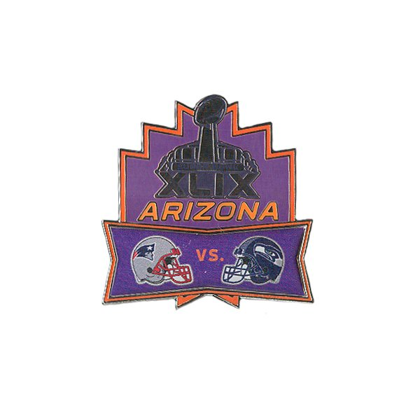Super Bowl XLIX Head-To-Head Pin