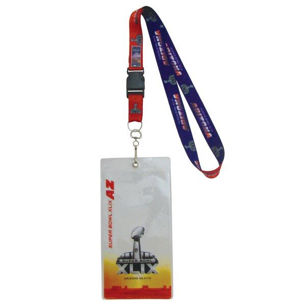 Super Bowl XLIX Lanyard Ticketholder/Pin