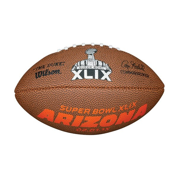 Super Bowl XLIX Mini Soft Touch Football
