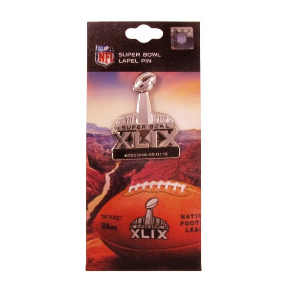 Super Bowl XLIX Primary Logo Pin