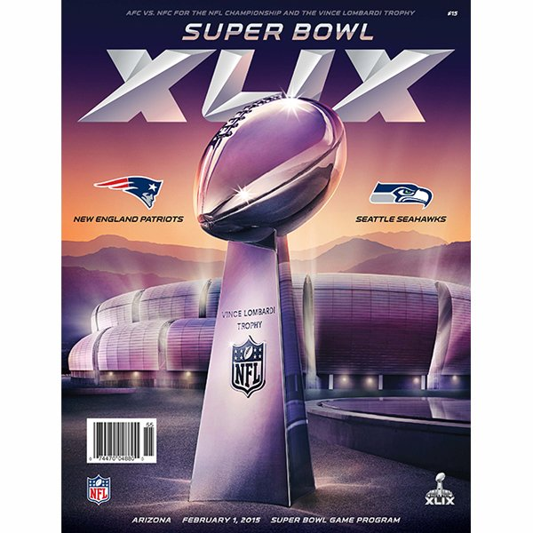Super Bowl XLIX Official Game Program