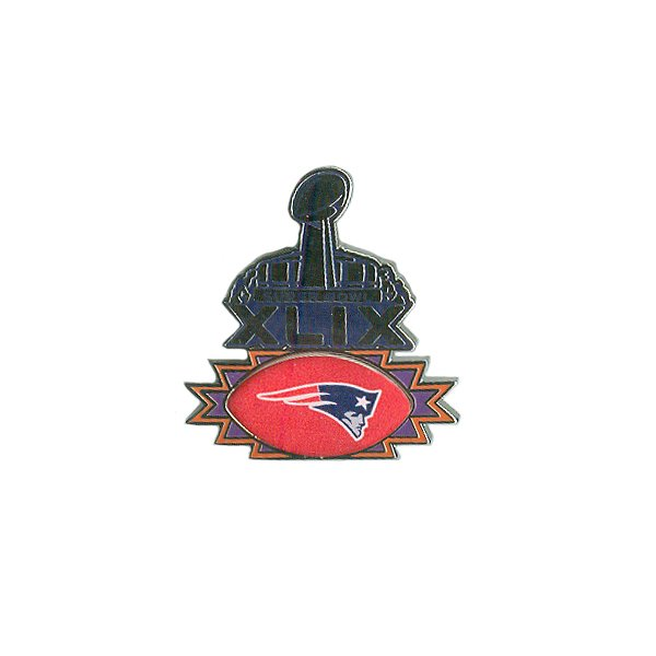 Super Bowl XLIX Team Pin