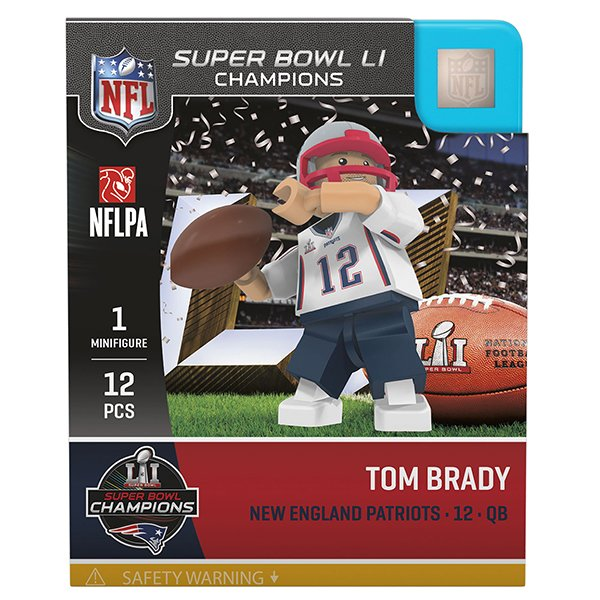 Super Bowl LI Champions Tom Brady Oyo Figure