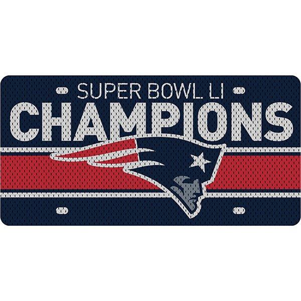 Super Bowl LI Champions Acrylic License Plate