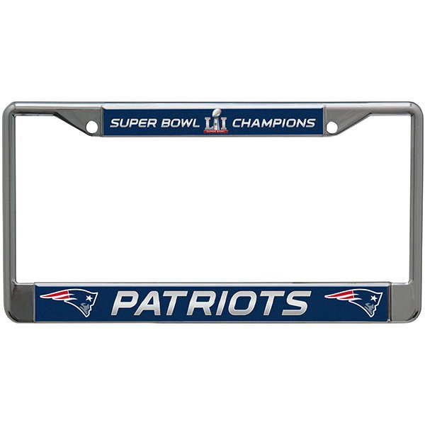 Super Bowl LI Champions License Plate Frame