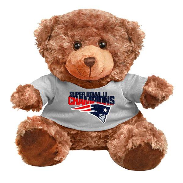 Super Bowl LI Champions Plush Seated Bear