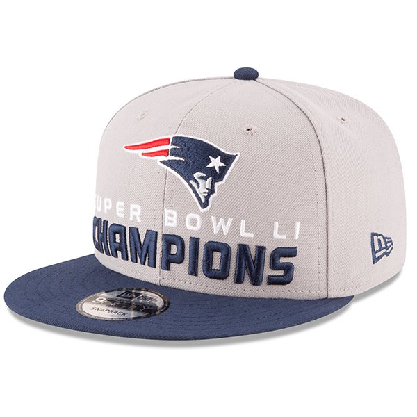 SB51 Champs New Era Snapback Cap Gray