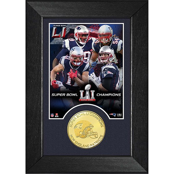 Super Bowl LI Champions Bronze Mini Mint