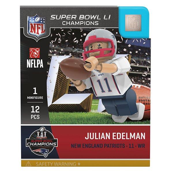 Julian Edelman SB51 Champs Oyo Figure