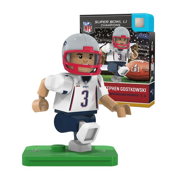 Super Bowl LI Champions Stephen Gostkowski Oyo Figure