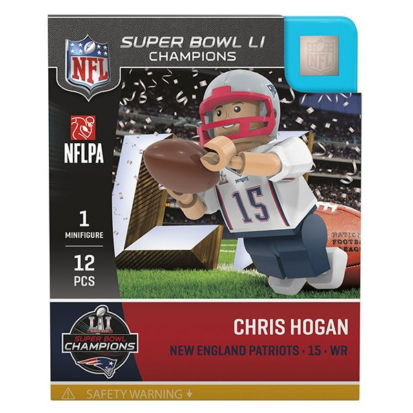 Chris Hogan SB51 Champs Oyo Figure