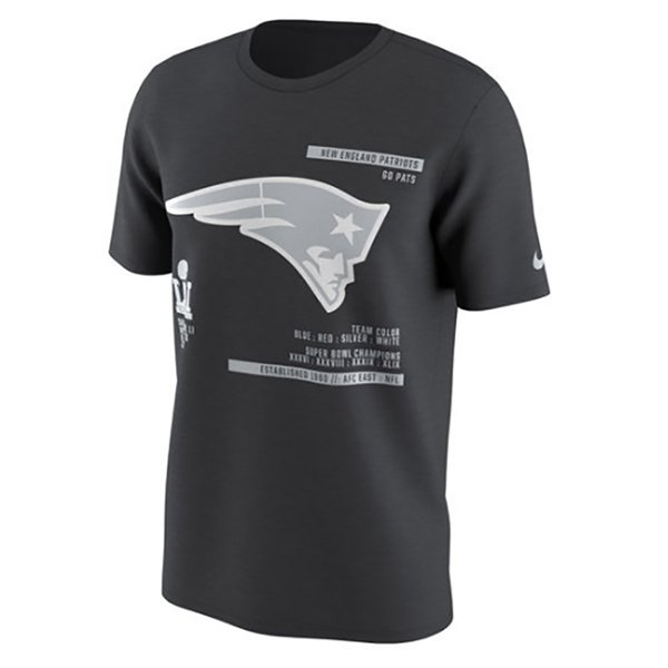 Nike Super Bowl Media Day Tee-Black