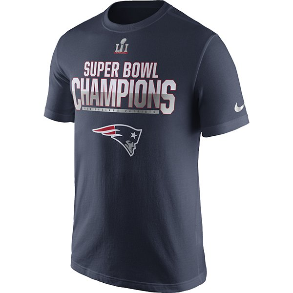 Nike Super Bowl LI Parade Tee-Navy