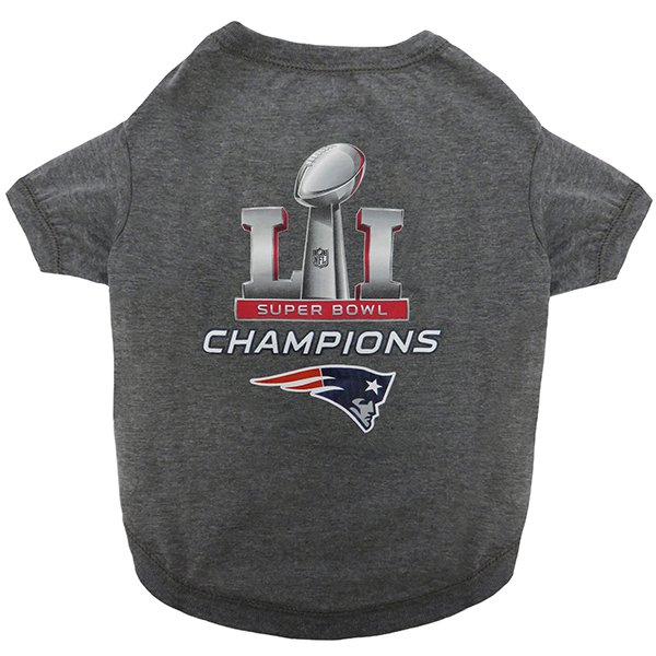 Pets First Super Bowl Champions Tee-Gray