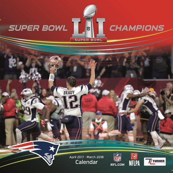Super Bowl LI Champions Wall Calendar