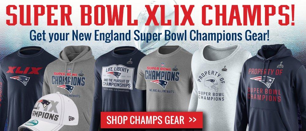 Super Bowl XLIX Champs w/Promo - Desktop Slide