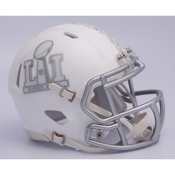 Super Bowl LI Logo Mini Helmet-White