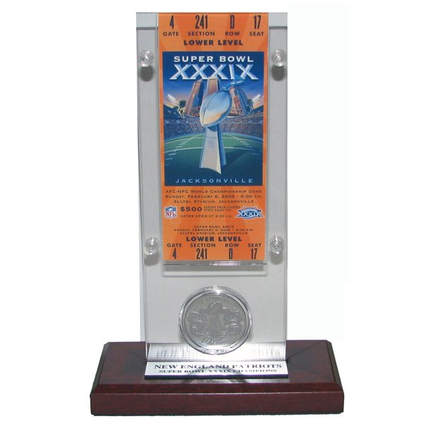 Super Bowl 39 Ticket/Coin Desktop