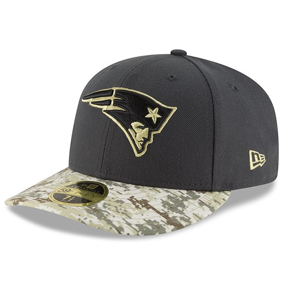 2016 Salute To Service 59Fifty Fitted Cap-Charcoal/Camo