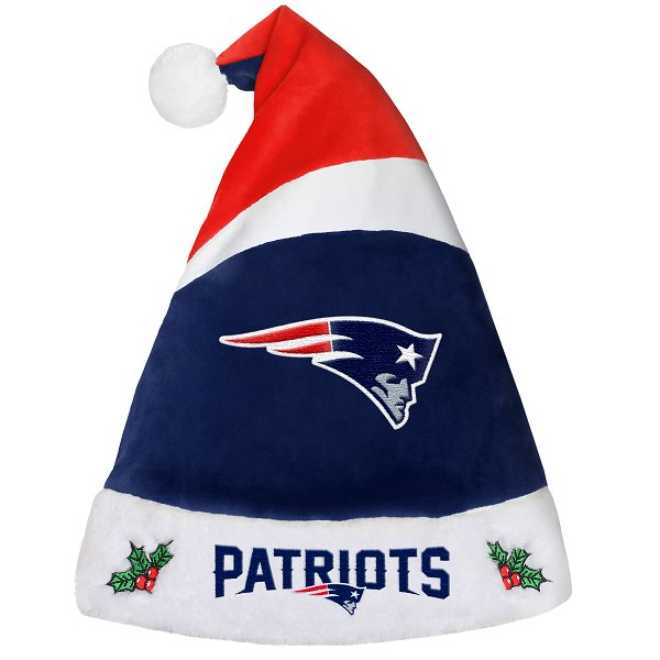 Patriots Santa Hat-Navy/Red
