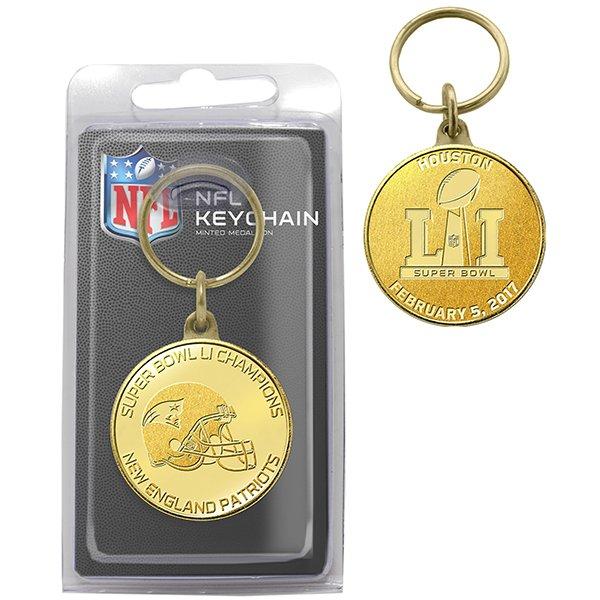 Super Bowl LI Champions Bronze Keychain
