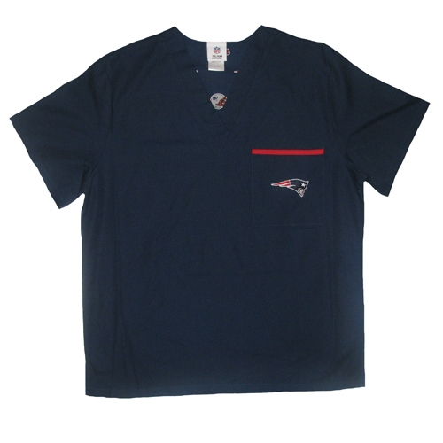 Patriots Scrub-Dudz Top