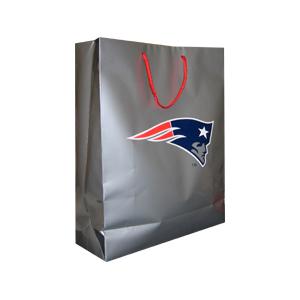 Patriots Silver Gift Bag