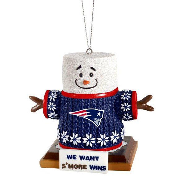 Patriots Smores Ornament