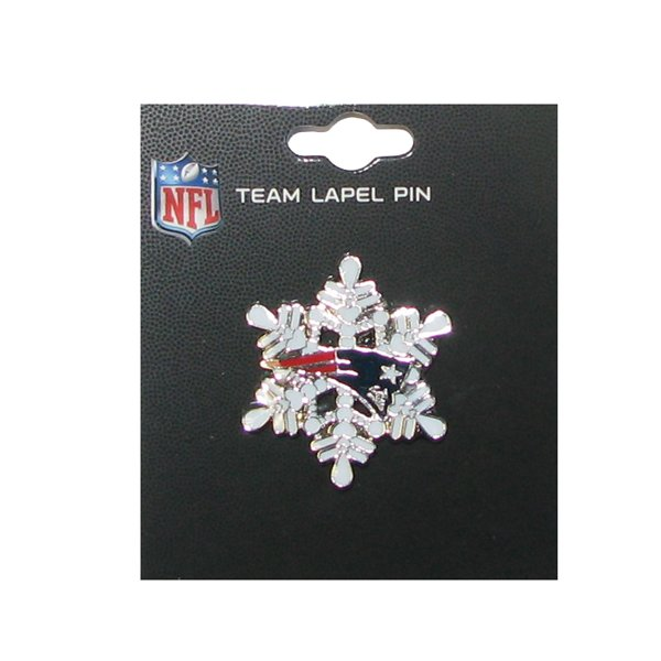 Patriots Snowflake Pin