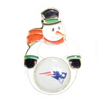 Snowman Holiday Pin