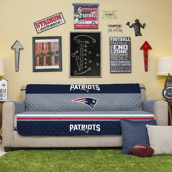 Patriots Sofa/Furniture Protector-Navy