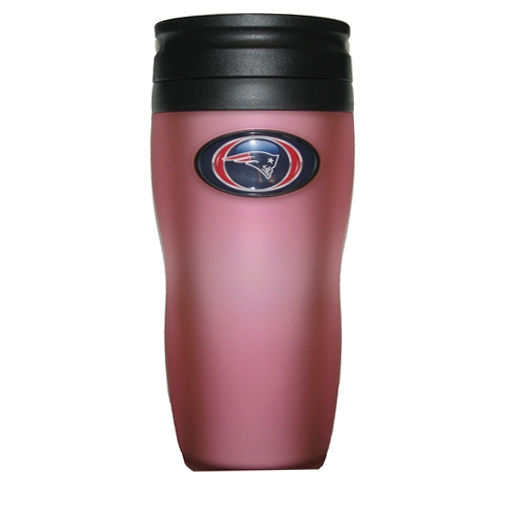 Soft Touch Pink Travel Mug