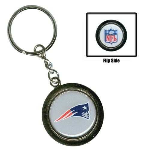 Spinning Logo/NFL Keychain