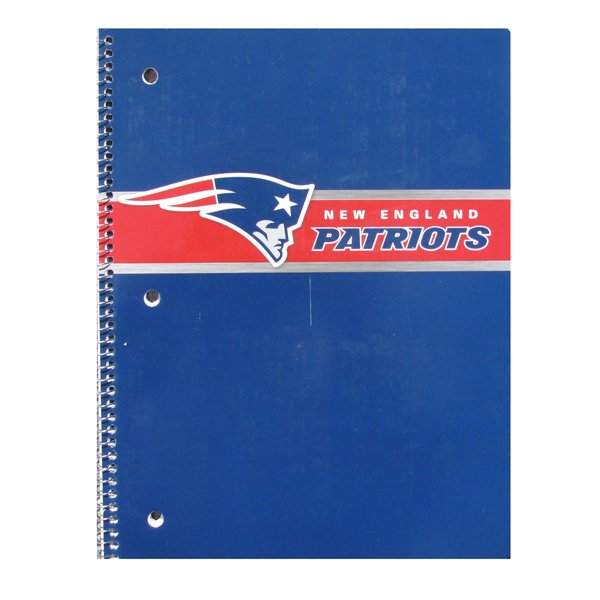 Patriots Wirebound Notebook
