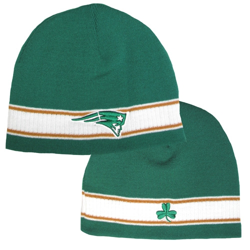 St. Pats Shamrock Knit Hat