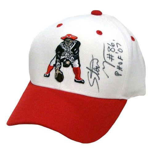 Stanley Morgan Autographed Throwback Cap