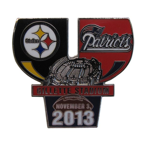 Patriots/Steelers Gameday Pin 11-3-13