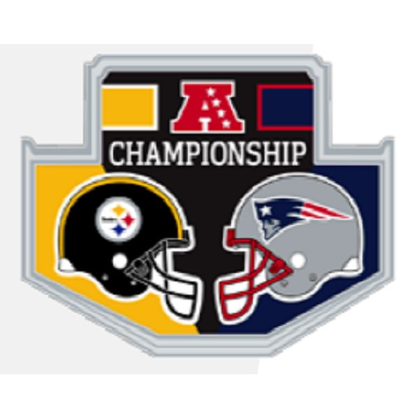 Patriots-Steelers Pin Game Day Pin