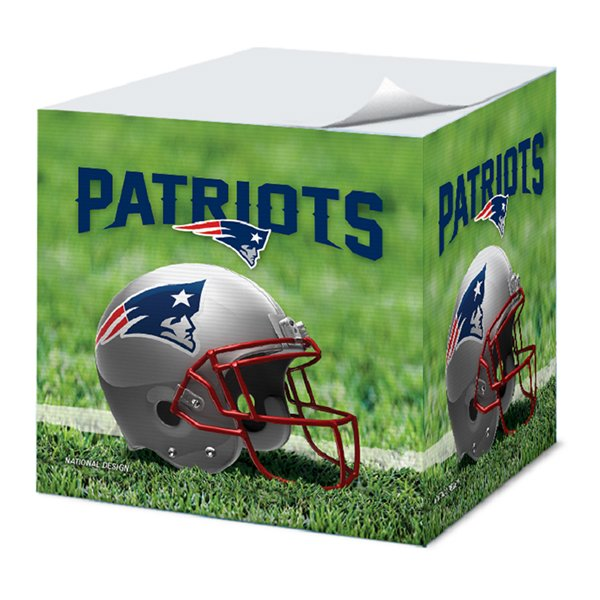 Patriots Sticky Note Cube