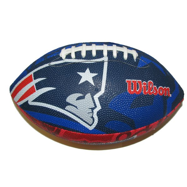 Patriots Super Grip Rubber Football