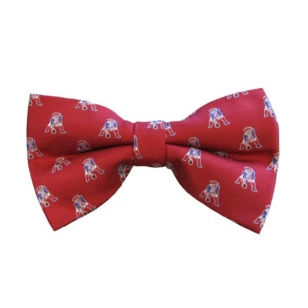 Patriots Throwback Bow Tie-Red