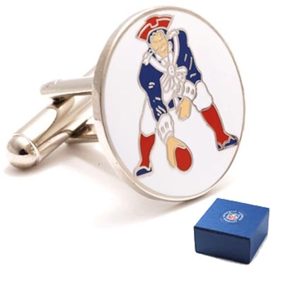 Patriots Throwback Cufflinks