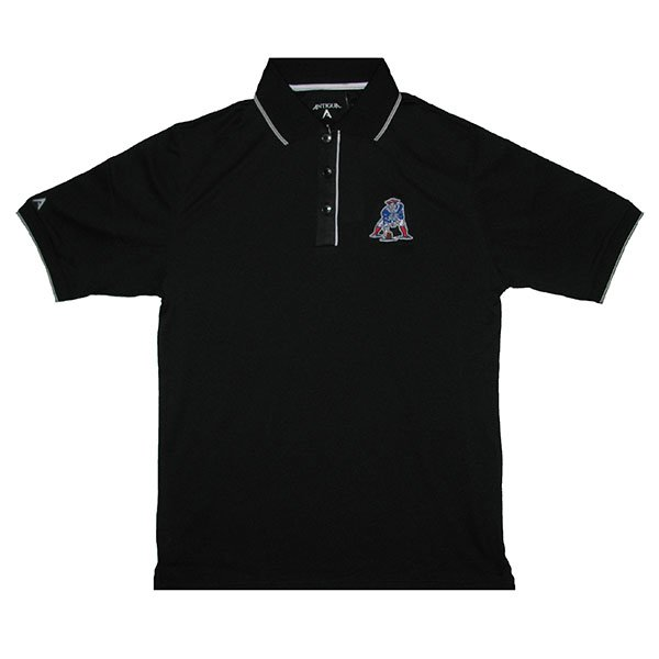 Patriots Elite Throwback Polo-Black