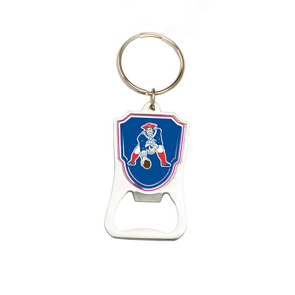 Patriots Throwback Bottle Opener Keychain