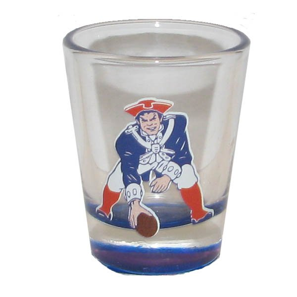 Patriots 2oz Throwback Highlight Shotglass
