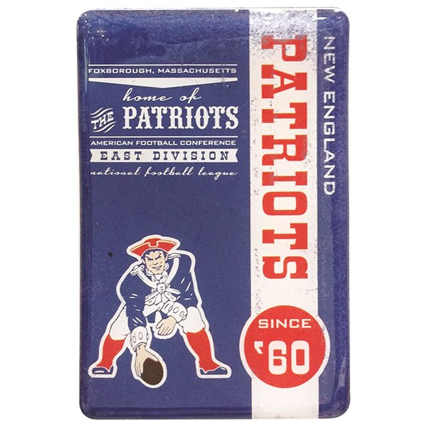 Patriots Throwback Magnet