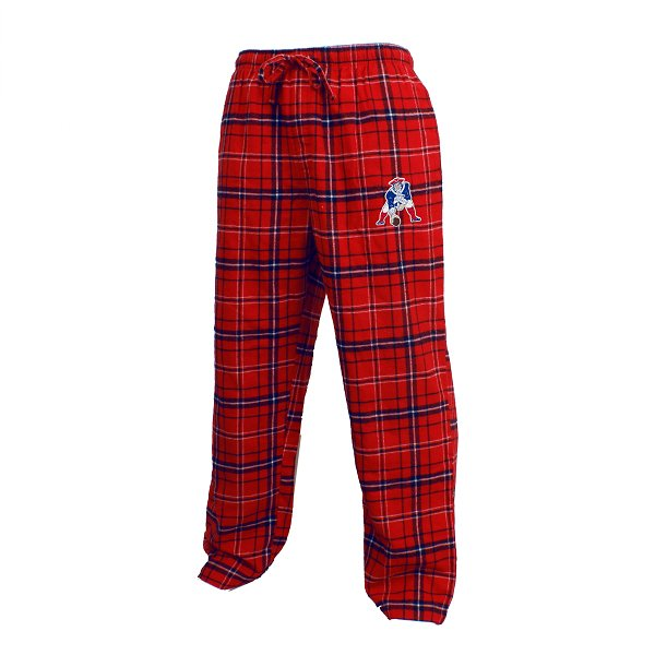 Patriots Ultimate Throwback Flannel Pant-Red/Navy