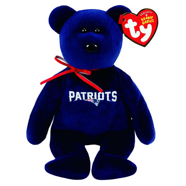 Patriots TY Beanie Bear