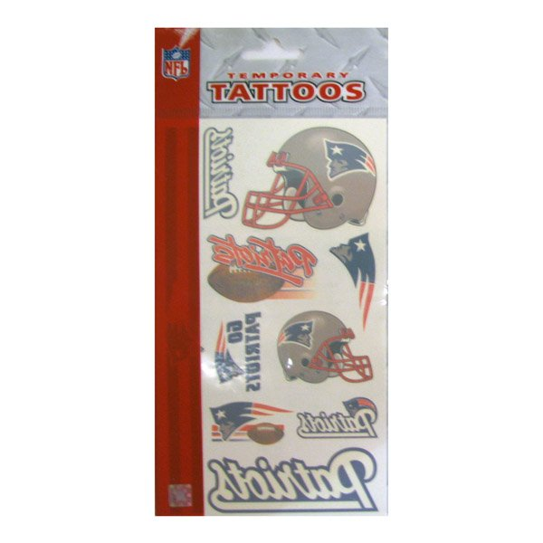 Patriots Temporary Tattoos